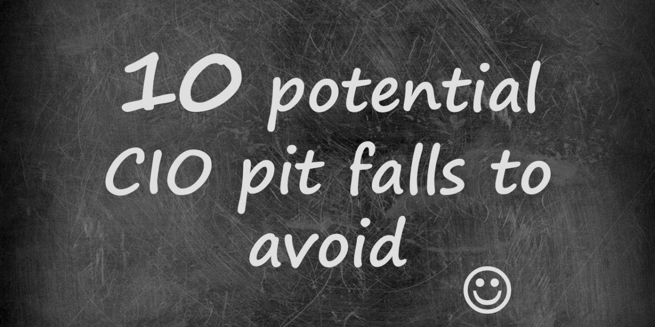 10 common CIO pit falls