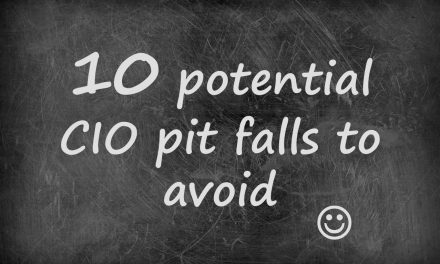 10 common CIO pit falls